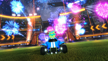 This summer: The cross-platform party support will arrive at Rocket League