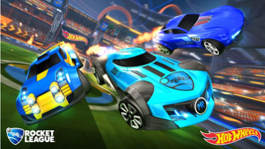 Rocket League receive new Hot Wheels DLC