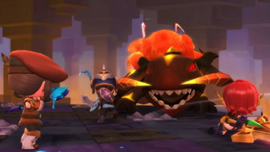 Now that the crowd is here, the fun of playing in MapleStory 2 can start
