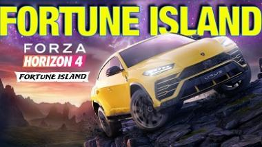 "Forza Horizon 4's first expansion, ""Fortune Island"" will be available next month"