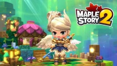 In MapleStory 2: You are not doing nothing, but can do a lot of things.