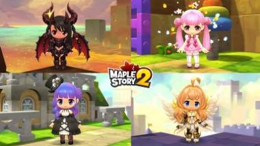 MapleStory 2 has launched Soul Binder Class