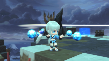 MapleStory 2 takes you to the expanse of clouds towards the sky