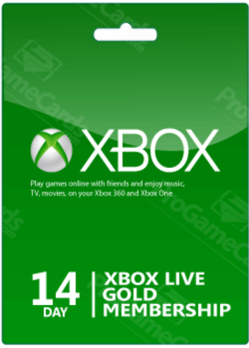 Cheap Gift Cards  Xbox 14 Days Gold Membership