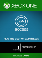 Cheap Gift Cards EA Access 1 Month Xbox One CD-Key