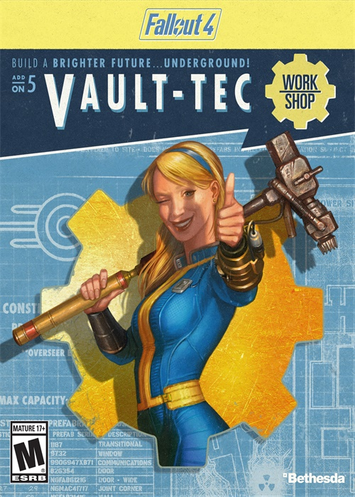 Cheap Steam Games  Fallout 4 VaultTec Workshop DLC Steam CD Key