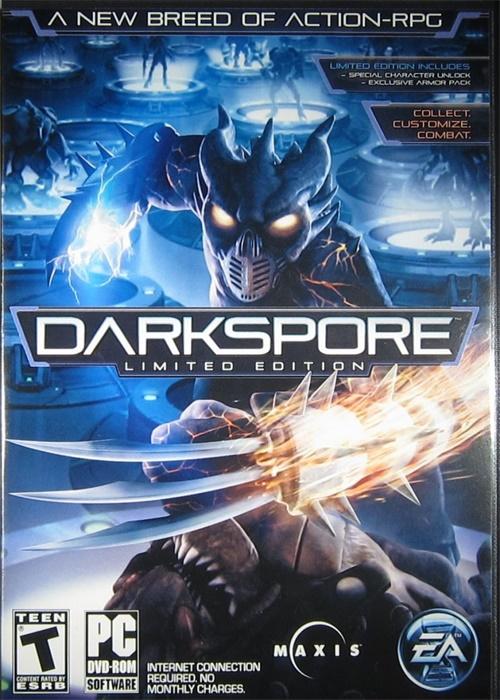 Cheap Origin Games  Darkspore - Limited Edition Origin CD Key