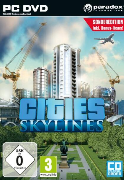 Cheap Steam Games  Cities Skylines STEAM CD-KEY GLOBAL