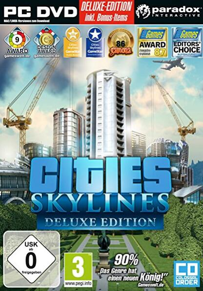 Cheap Steam Games  Cities Skylines Deluxe Edition STEAM CD-KEY GLOBAL
