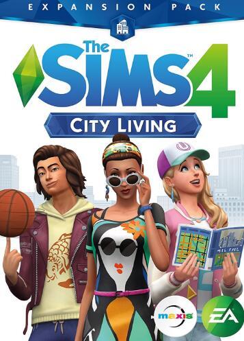 Cheap Origin Games  The Sims 4 City Living Origin CD Key