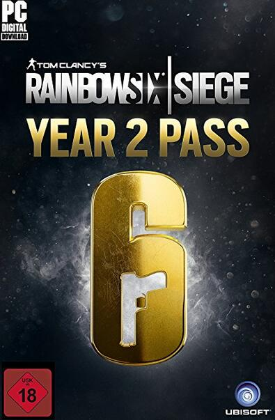 Cheap Uplay Games  Tom Clancy's Rainbow Six Siege Year 2 Pass DLC UPLAY CD KEY GLOBAL