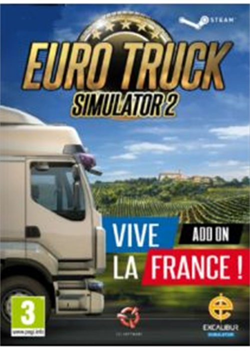 Cheap Steam Games  Euro Truck Simulator 2 Vive la France Steam CD Key