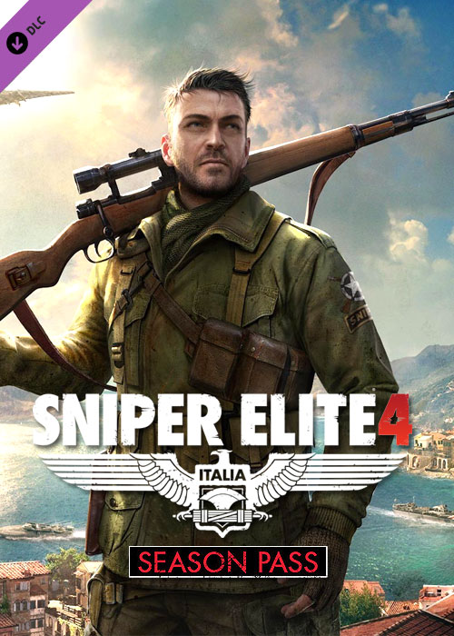 Cheap Steam Games  sniper Elite 4 Season Pass Steam CD Key