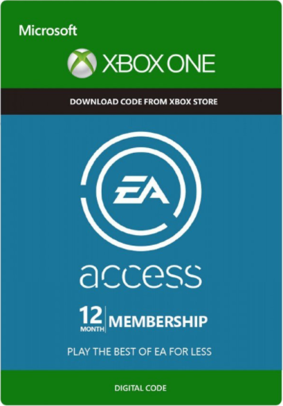 Cheap Xbox Games  EA Access 12 Months Xbox One CD Key