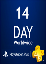 Cheap Gift Cards PlayStation PSN Plus Card 14 Days UK (PS4 Only)