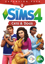 Cheap Origin Games  The Sims 4 Cats And Dogs DLC Origin CD Key Global