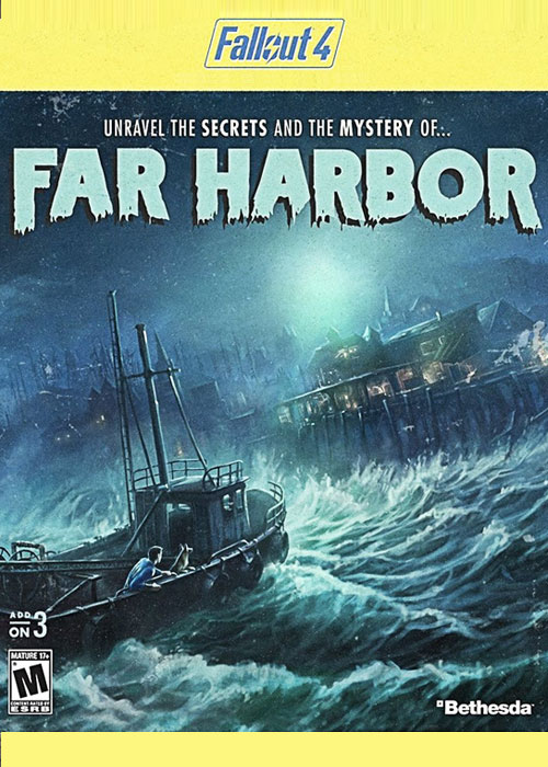 Cheap Steam Games  Fallout 4 Far Harbor DLC Steam CD Key