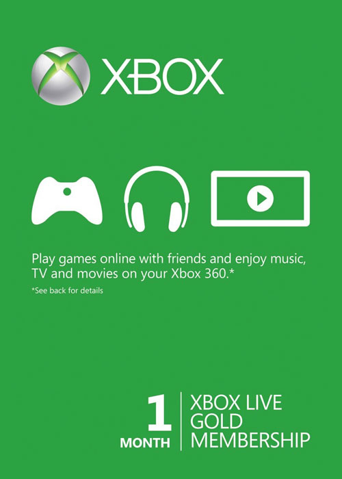 Cheap Gift Cards  Xbox 1 Month Gold Membership Global