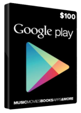 Cheap Gift Cards  Google Play Gift 100 USD