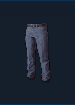 Slacks (Blue)