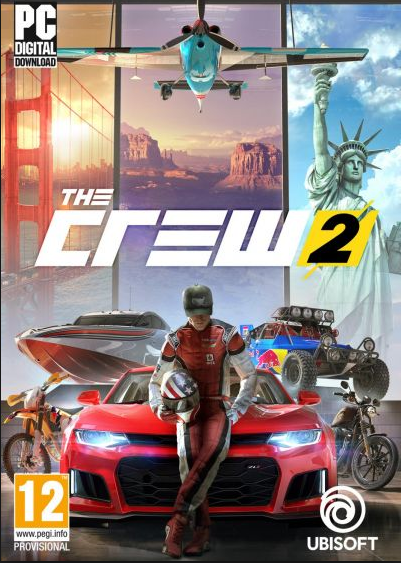 Cheap Uplay Games  The Crew 2 Uplay CD Key EU