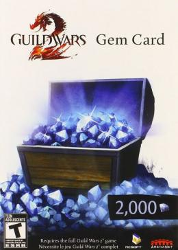 Cheap Guild War 2  Guild Wars 2 2000 Gem Card