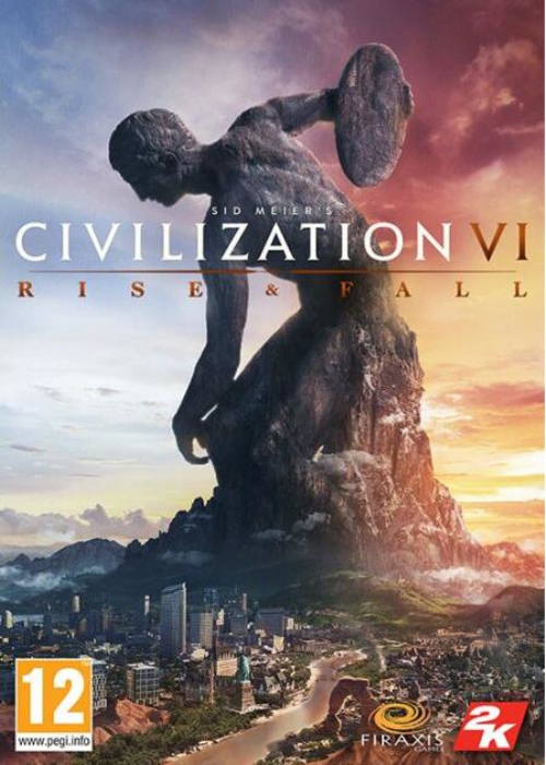 Cheap Steam Games  Civilization VI Rise And Fall DLC Steam CD Key EU
