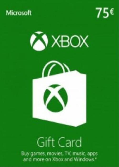 Cheap Gift Cards  XBOX Live Gift Card 75 EUR Key