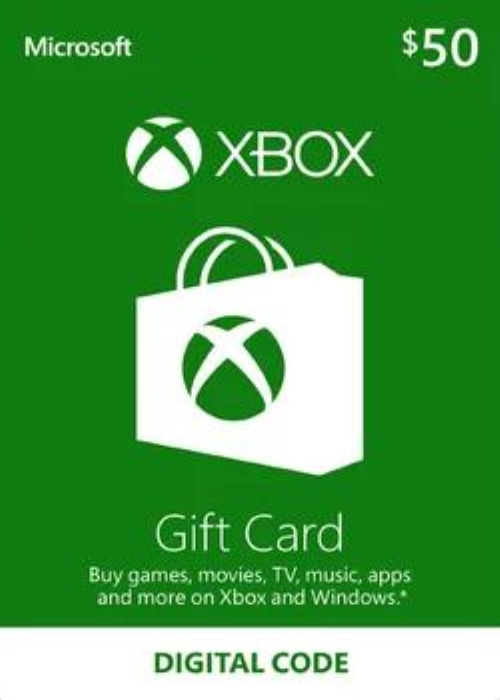 Cheap Gift Cards  XBOX Live Gift Card 50 USD Key