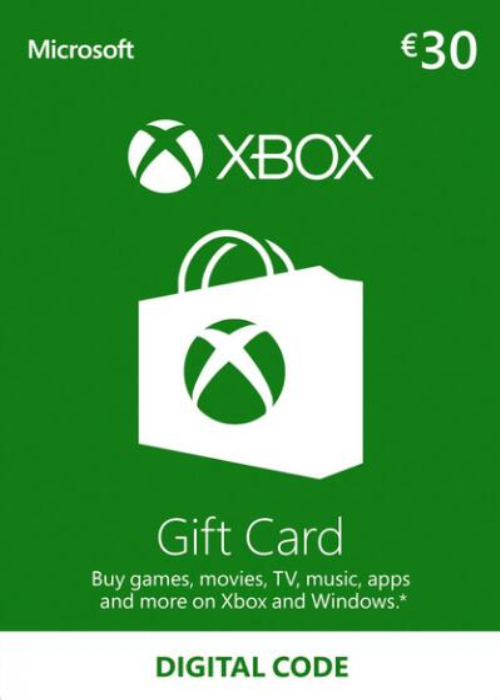 Cheap Gift Cards  XBOX Live Gift Card 30 EUR Key
