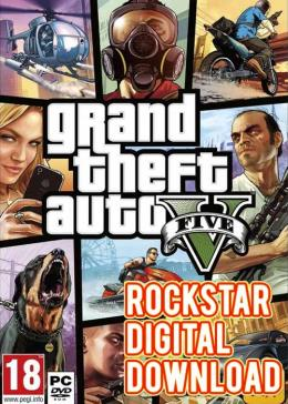 Cheap Grand Theft Auto V Grand Theft Auto V Rockstar Digital Download Key