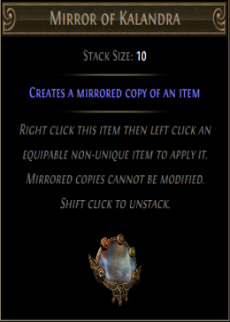 Cheap Path Of Exile (Global) Incursion Mirror of Kalandra-1