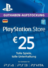 Cheap Gift Cards Play Station Network 25 EUR DE