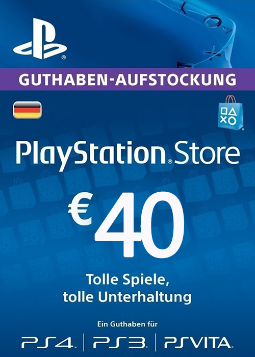 Cheap Gift Cards  Play Station Network 40 EUR DE