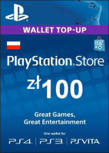 Cheap Gift Cards  Play Station Network 100 PLN PL
