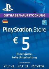 Cheap Gift Cards  Play Station Network 5 EUR DE