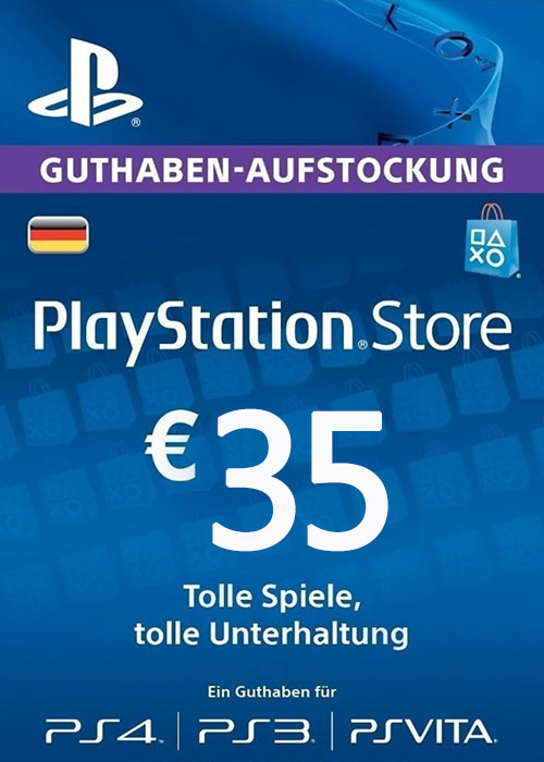 Cheap Gift Cards  Play Station Network 35 EUR DE