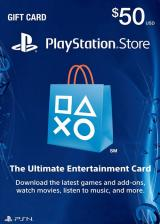 Cheap Gift Cards PlayStation Network 50 USD