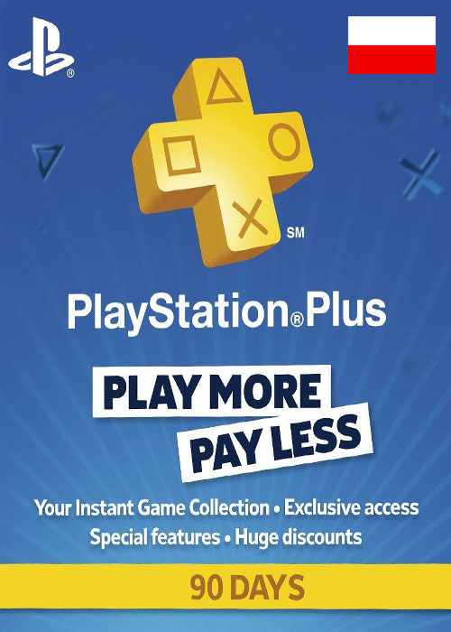 Cheap Gift Cards  Playstation Plus 90 Days Poland