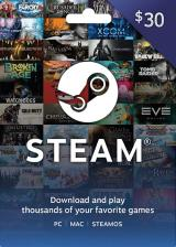 Cheap Gift Cards  steam Gift Card 30 USD