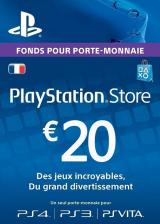 Cheap Gift Cards  Play Station Network 20 EUR FR
