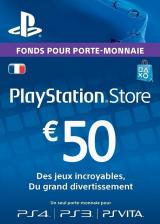 Cheap Gift Cards Play Station Network 50 EUR FR