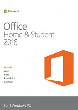Cheap Microsoft  Microsoft Office Home & Student 2016 CD Key