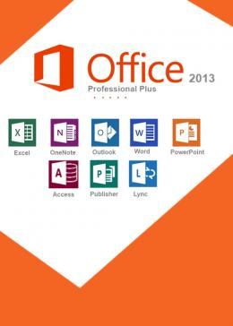 Cheap Microsoft  Office2013 Professional Plus CD Key Global