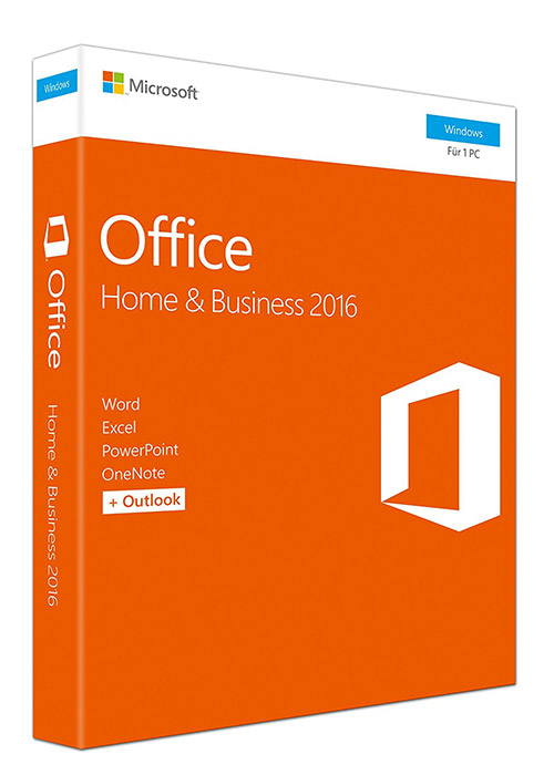 Cheap Software  Microsoft Office Home And Business 2016 CD Key