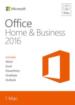 Cheap Software  Office Home And Business 2016 For Mac CD Key Global