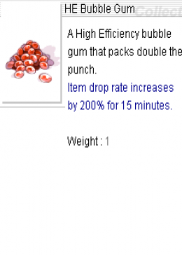 Cheap Ragnarok Online(US) Chaos HE Bubble Gum*100