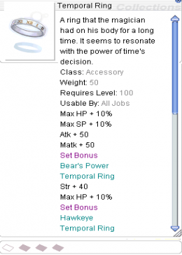 Cheap Ragnarok Online(US) Thor Temporal Ring