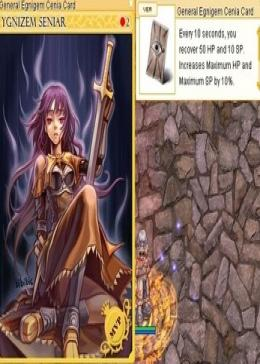 Cheap Ragnarok Online(US) Chaos General Egnigem Cenia Card