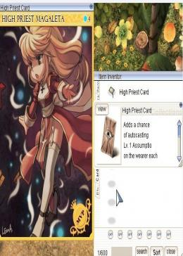 Cheap Ragnarok Online(US) Chaos High Priest Card